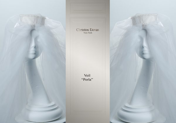 perla veil wedding
