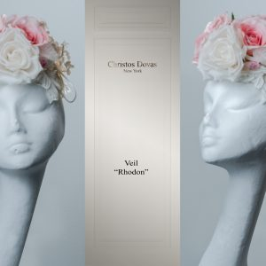 rhodon wedding veil